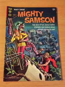 Mighty Samson #5 ~ FINE FN ~ 1966 GOLD KEY COMICS