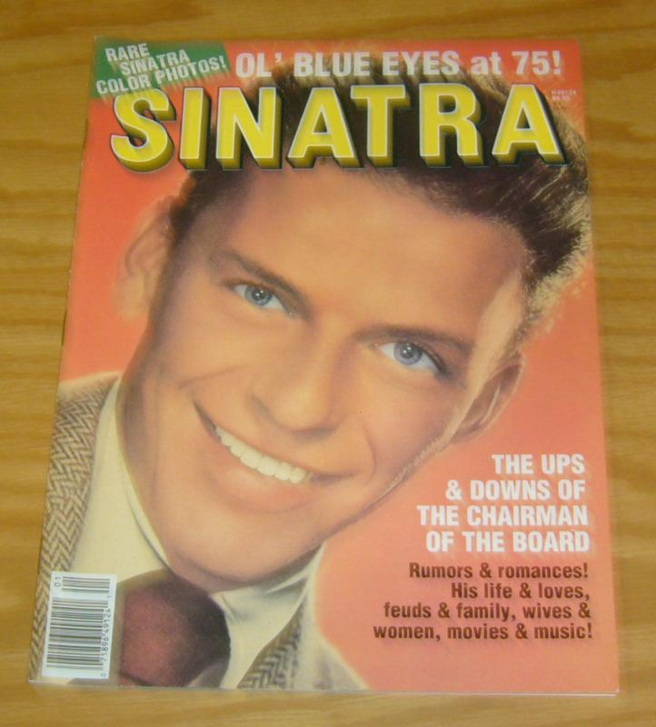 Frank Sinatra #1 VF starlog magazine from 1990 - color photos & lots more