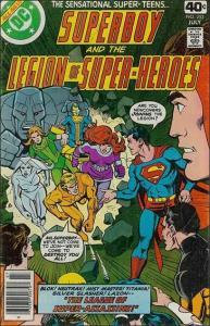 DC SUPERBOY & THE LEGION OF SUPER-HEROES #253 FN