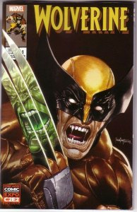 C2E2 2020 WOLVERINE #1 Mico Suayan EXCLUSIVE VARIANT Incredible Hulk 340 NM
