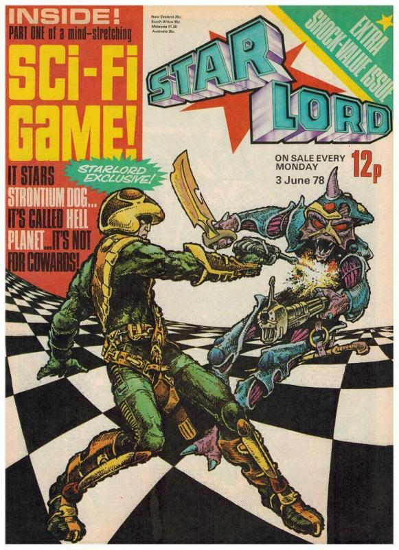 STAR LORD (BRITISH WEEKLY)4 (6/3/78)VF-NM HELL PLANET