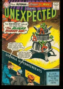 TALES OF THE UNEXPECTED #91 1965 DC-1st Automan VG/FN
