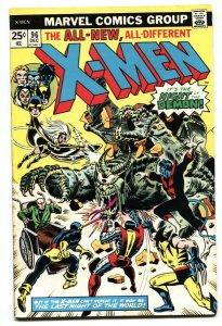 X-MEN #96-1st appearance of Moira MacTaggert.-1975-MARVEL