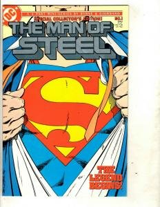 Lot of 11 DC Comics Man of Steel 1 1 2 3 4 5(2) 6 Martian Manhunter 1 2 4 JF10