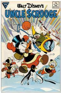 UNCLE SCROOGE 215 VF Mar. 1987 COMICS BOOK