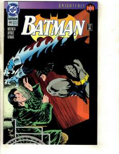 Lot of 8 Batman DC Comic Books 499 498 496 479 468 458 442 441 Bruce Wayne JF10