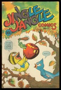 JINGLE JANGLE COMIC #17 '45-FUNNY ANIMAL-GEORGE CARLSON FN