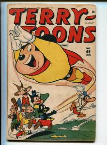 Terry-Toons #49 1946-Timely-Mighty Mouse cover and story-VG+