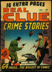 Real Clue Crime Stories V.5 #6 1950-Golden Age- Bernie Krigstein FN
