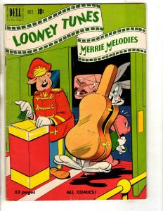 Looney Tunes # 108 FN 1950 Dell Golden Age Comic Book Elmer Fudd Bugs Bunny JL3