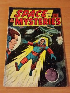 Space Mysteries #1 ~ VERY GOOD VG ~ (1958, I. W. Publishing / Super Comics)