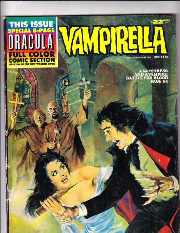 Vampirella Magazine #22 (Mar-73) VG Affordable-Grade