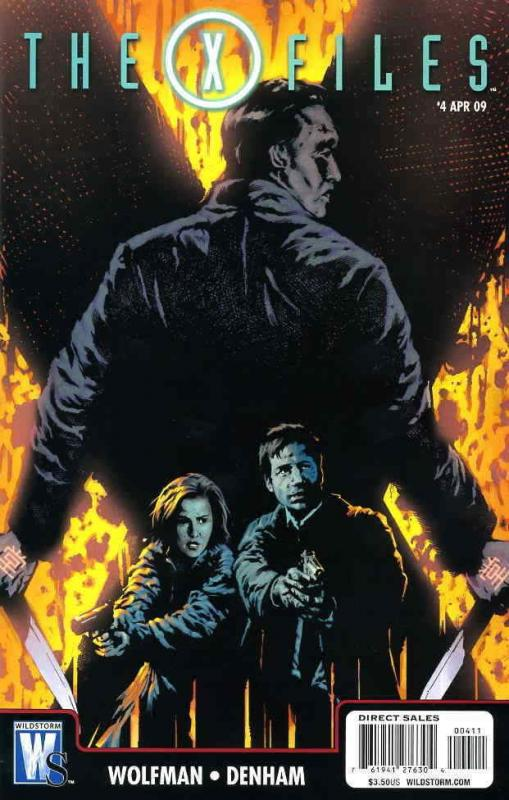 X-Files, The (WildStorm) #4 FN; WildStorm | save on shipping - details inside