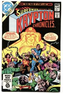 Krypton Chronicles #2-1981-First appearance of Val El-comic book