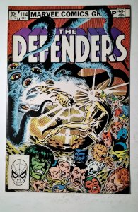 The Defenders #114 (1982) Marvel Comic Book J757