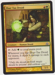 Magic the Gathering: Dragon Maze - Zhur-Taa Druid