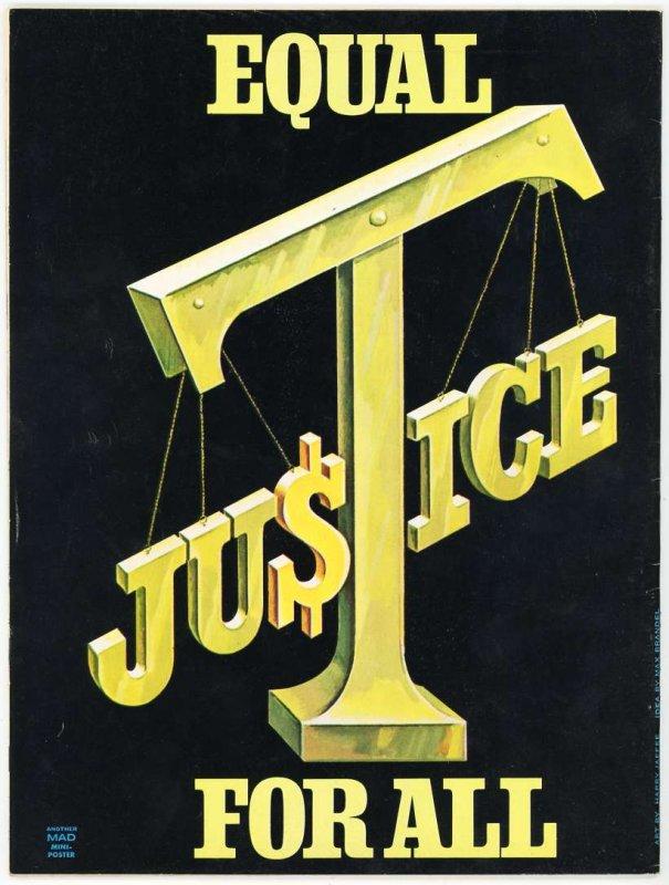 MAD Magazine # 159 (1973)  A Clockwork Lemon Back Cover Never Folded