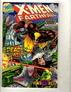 11 Comics X-Men Earthfall Sword 1 2 3 4 Vulcan 2 3 Fairy 2 Liberators Lost+ EK13