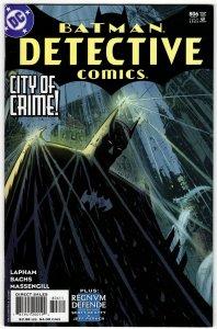 DETECTIVE COMICS #806 (VF) 1¢ Auction! No Reserve!