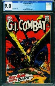 G.I. COMBAT #125 CGC 9.0 1967-DC-WWII STORIES- 2039574016