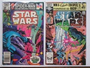 Star Wars (Marvel v1 1981) #54 + 55 Claremont Simonson Michelinie Infantino