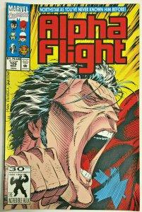 ALPHA FLIGHT#106 VF/NM 1992 MARVEL COMICS