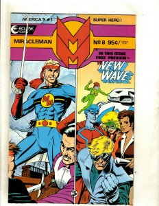 Lot Of 7 Miracleman Eclipse Comic Books #8 9 10 11 12 13 14 Alan Moore VF-NM HJ9