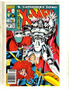 10 Uncanny X-Men Marvel Comic Books #296 298 300 301 302 303 304 305 306 308 HY5
