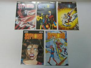 Syphons 2 sets 10 different issues 8.0 VF (1986+94)