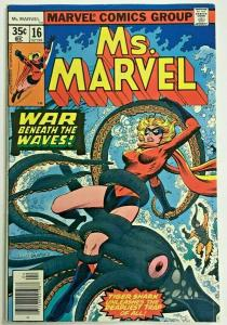 MS. MARVEL#16 VF 1978 MARVEL BRONZE AGE COMICS