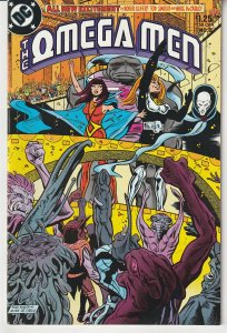 Omega Men(vol. 1) # 8 An Omega Man returns home !