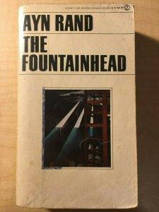 3 Books Ayn Rand The Fountainhead Lucifer's Hammer The First American MFT2