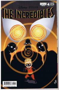 The INCREDIBLES #4 B, NM, Disney Pixar, Boom Studios, 2009, more in store