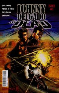 Johnny Delgado is Dead #1 VF/NM; Image | save on shipping - details inside