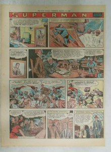 Superman Sunday Page #929 by Wayne Boring from 8/18/1957 Size ~11 x 15 inches