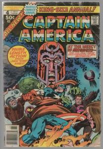 CAPTAIN AMERICA ANN  4 FAIR 1977