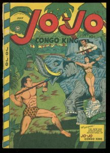 JO-JO CONGO KING #7 1947 COVER ONLY!!! BARGAIN FOX PUBS P