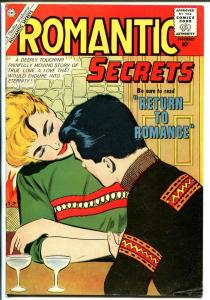 Romantic Secrets #30 1960-Charlton-spicy-dragon slain-fireplace seduction-VG/FN
