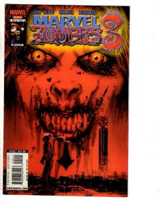 Lot Of 6 Marvel Comic Books Zombies 3 # 2 + 4 # 2 1 + War Of Kings # 3 6 4 J298