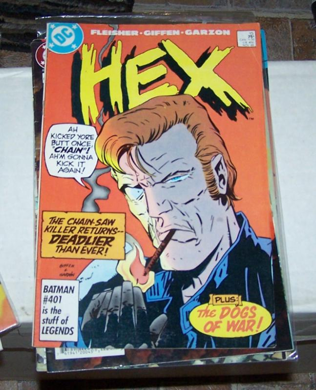 Hex #15 (Nov 1986, DC) JONAH HEX IN THE FUTURE GIFFEN