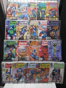Captain America (Marvel v3 1998) #1-50 Lot of 49Diff Mark Waid Ron Garvey