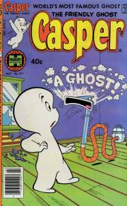 Friendly Ghost, Casper, The #211 VG; Harvey | low grade comic - save on shipping