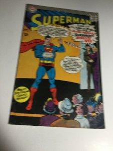 Superman 185 Vg Very Good 4.0 DC Comics