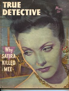 True Detective-5/1948-Crime-Clue Of The Curious Cat-Stark