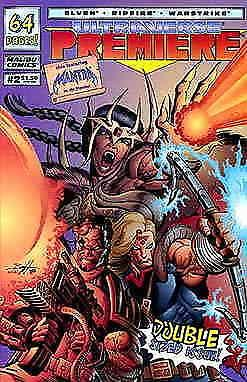 Ultraverse Premiere #2 VF/NM; Malibu | save on shipping - details inside