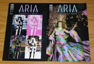 Aria: Summer's Spell #1-2 VF/NM complete series - jay anacleto - brian holguin