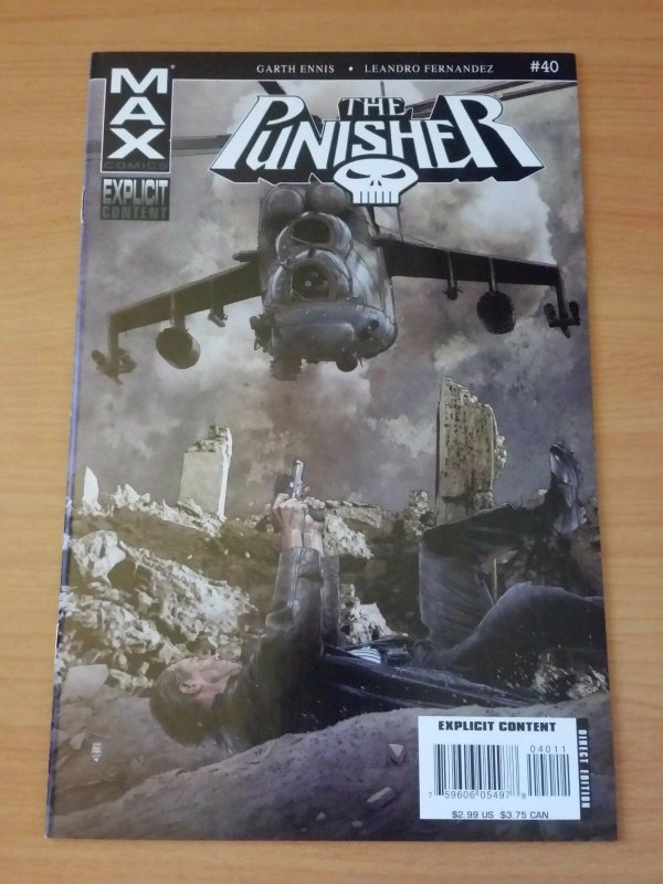 Punisher #40 ~ NEAR MINT NM ~ 2007 Marvel Comics