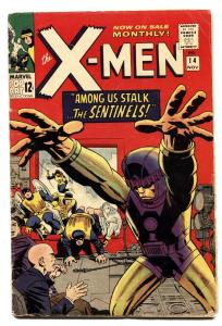 X-MEN #14-1st SENTINELS-1965-MARVEL SILVER-AGE