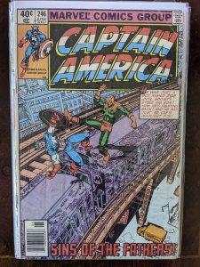 Captain America #246 (1980) 6.5