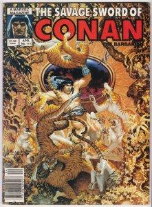 Savage Sword Of Conan Magazine #111 | 1st App Iron Damsels (Marvel, 1985)
